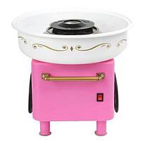 Аппарат для приготовления сладкой ваты на колесиках (HT0042)