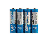 Батарейка GP POWERPLUS 1.5V 24C-S4 , R03, AAA (4шт сп.) (HT0131)