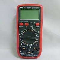 Мультиметр профессиональный цифровой UT 61-А тестер вольтметр с термопарой