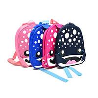 "Рюкзак детский ""Рыбка"" размер 26х23х10см, разные цвета, полиэстер, детский рюкзак, рюкзак, рюкзаки школьные, детские рюкзаки и сумки"