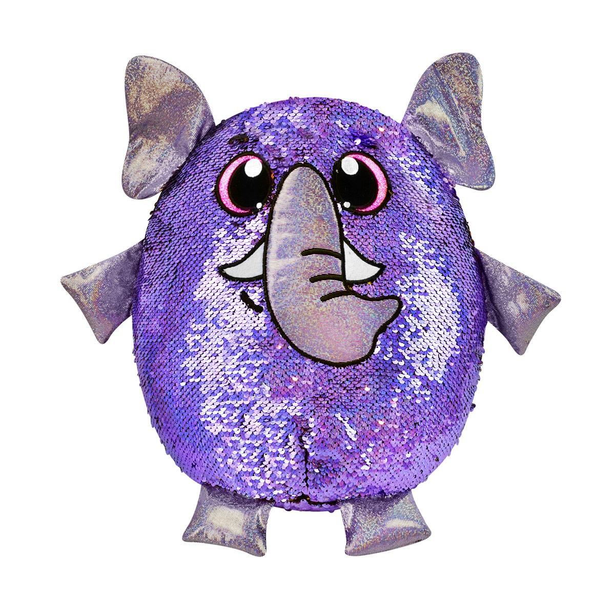 М'яка Іграшка з паєтками Shimmeez S2 - Сильний Слон (36 см)
