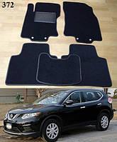 Коврики на Nissan Rogue II '14-. Текстильные автоковрики