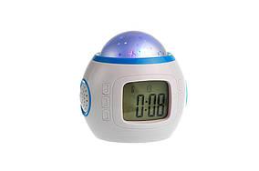 Часы – музыкальный проектор звездного неба (HT0253)