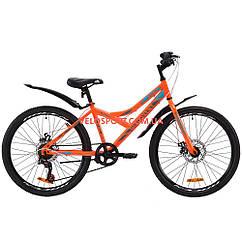 Подростковый велосипед Discovery Flint DD 24 дюйма Оранжевый