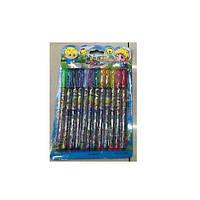 """Набор гелевый разноцветных ручек """"Glitter"""" в упаковке 12шт, ручки, гелевые ручки, наборы гелевые разноцветные ручки"""