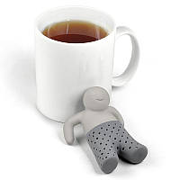 Силиконовый заварник для чая - Mr. Tea, серый (HT0293)