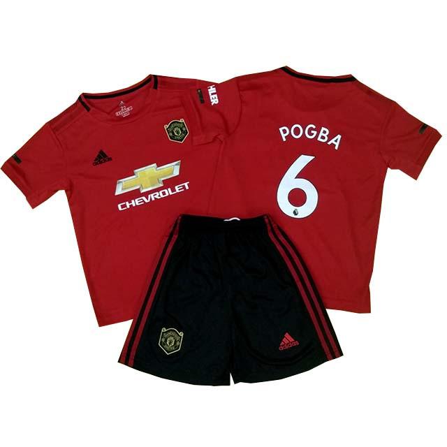 Футбольная форма для детей и подростков ФК Манчестер Юнайтед сезон 2019-2020г