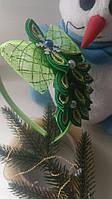 Корона для новогоднего костюма елочка