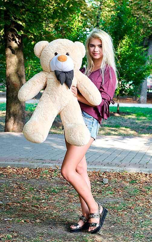 Плюшевый Мишка Нестор 100см. Большой Мишка игрушка Плюшевый медведь Мягкие мишки игрушки Ведмедик
