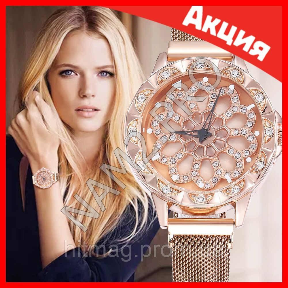Часы Flower Diamond браслет в подарок