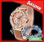 Часы Flower Diamond браслет в подарок, фото 2