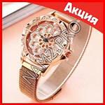 Часы Flower Diamond браслет в подарок, фото 5