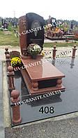 Элитные памятники на могилу из красного гранита