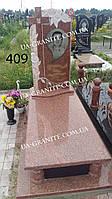 Элитные памятники для друга на могилу из красного гранита