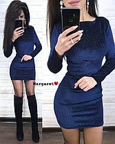 Шикарное платье мини, размер единый 42-44, фото 3