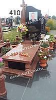 Элитные памятники для полицейского на могилу из красного гранита