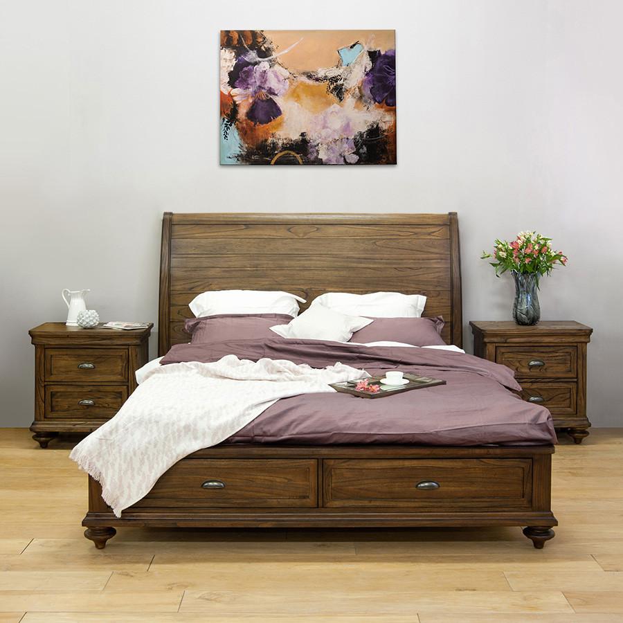Кровать HERITAGE  с ящиками