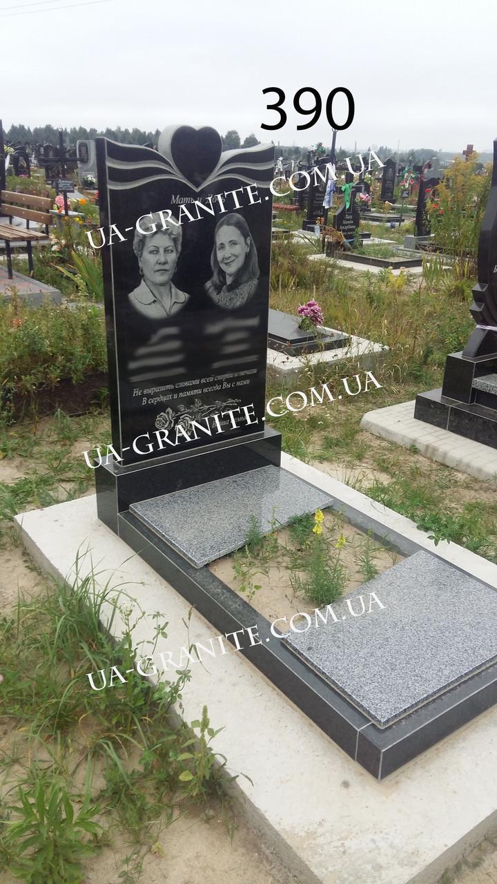 Эксклюзивные двойные памятники на могилу из гранита