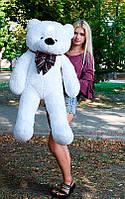Плюшевый Мишка Нестор Большой Мишка игрушка Плюшевый медведь Мягкие мишки игрушки Ведмедик (Белый)