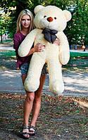 Плюшевый Мишка Нестор Большой Мишка игрушка Плюшевый медведь Мягкие мишки игрушки Ведмедик (Персик), фото 1