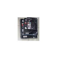 Блокнот - ежедневник для записи NoteBook пластиковая обложка, боковая спираль, с разделами, 120 листов, Ежедневник
