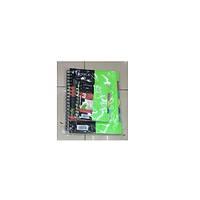 Блокнот - ежедневник для записи NoteBook B5, пластиковая обложка, 120листов, боковая спираль, с разделами