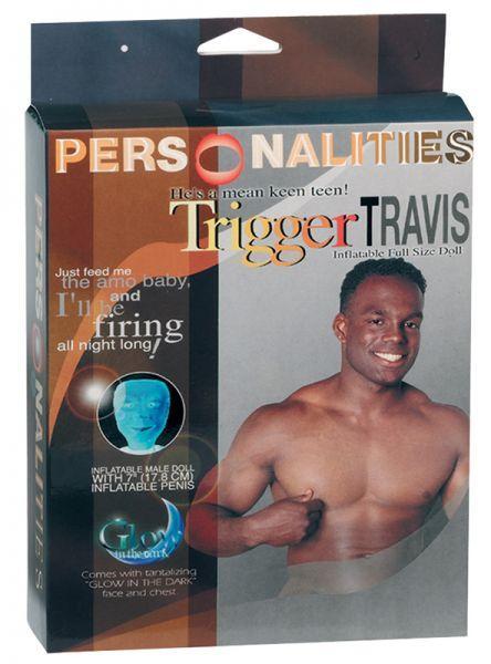Секс кукла Trigger Travis: glow in the dark