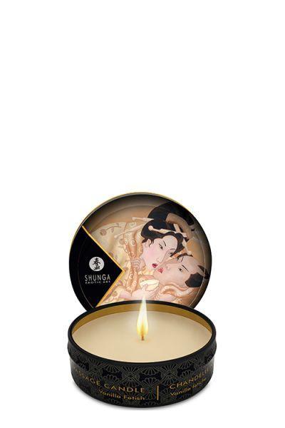 Массажная свеча MASSAGE CANDLE VANILLA FETISH, 30 мл