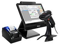 Комплект POS-оборудования для автоматизации торговли (магазинов, минимаркетов, бутиков)