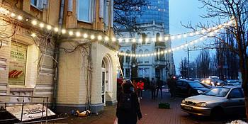 Уличная Ретро Гирлянды Belt Light из LED Ламп Е27 ➔ 4W, 4 шт/м