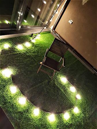 Уличная Ретро Гирлянды Belt Light из LED Ламп Е27 ➔ 5W, 1 шт/м