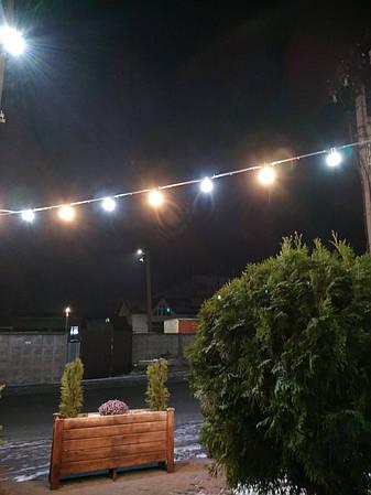 Уличная Ретро Гирлянды Belt Light из LED Ламп Е27 ➔ 5W, 3 шт/м