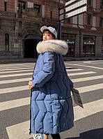Пуховик женский длинный Катрин