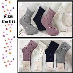 Детские демисезонные носочки для девочек  ( мин. заказ 12 шт.в уп.) 5-6 лет