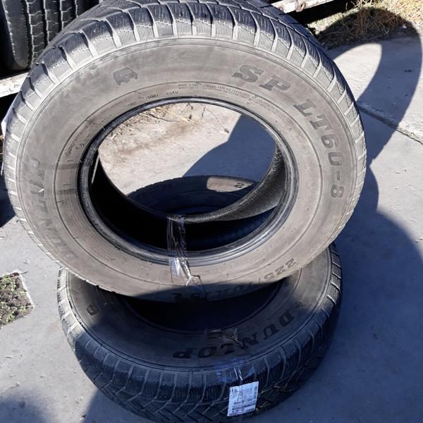 Бусовские шины б.у. / резина бу 225.70.r15с Dunlop SP LT60 Данлоп