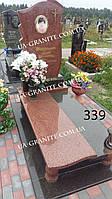 Памятники на могилу із закритим квітником фото кераміка каталог