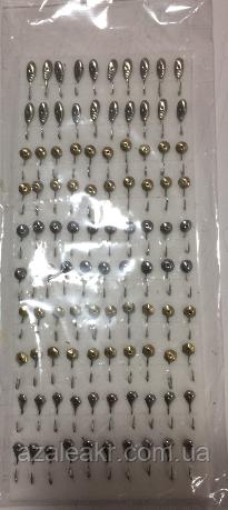 Набор мормышек напайка №1-1 (100шт.), фото 2