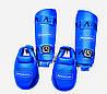 Захист для ніг (гомілка+фути) розбирається ARW WKF розмір S, M, L, XL для карате, єдиноборств