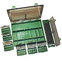 Коробка для рыбацких снастей большая World4Carp 8 в 1