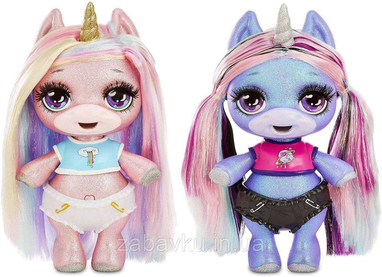 Poopsie Surprise Glitter Unicorn- Pink or Purple Пупсі слайм 3хвиля