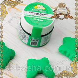 """Краситель паста ТМ Cofiseur """"Изумрудно-Зеленый"""" 25 гр."""