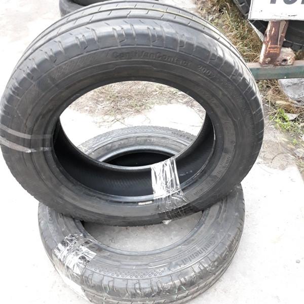 Бусовские шины б.у. (усиленная резина бу) 195.65.r16с Continental ContiVancontact 200 Континенталь
