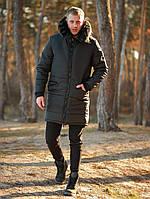 Парка мужская зимняя MEX ALL black до -30°С | куртка мужская зимняя ЛЮКС!