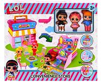 Игровой набор Лол Дом / Домик для кукол лол - 3 куклы ЛОЛ,  -аналог