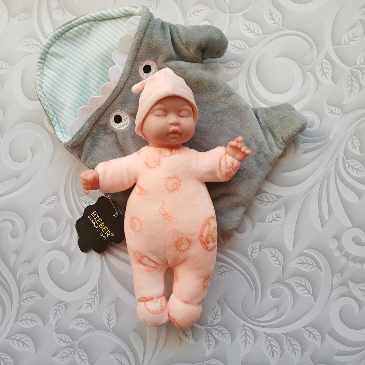 Кукла сплюшка с конвертом, bieber, расцветки