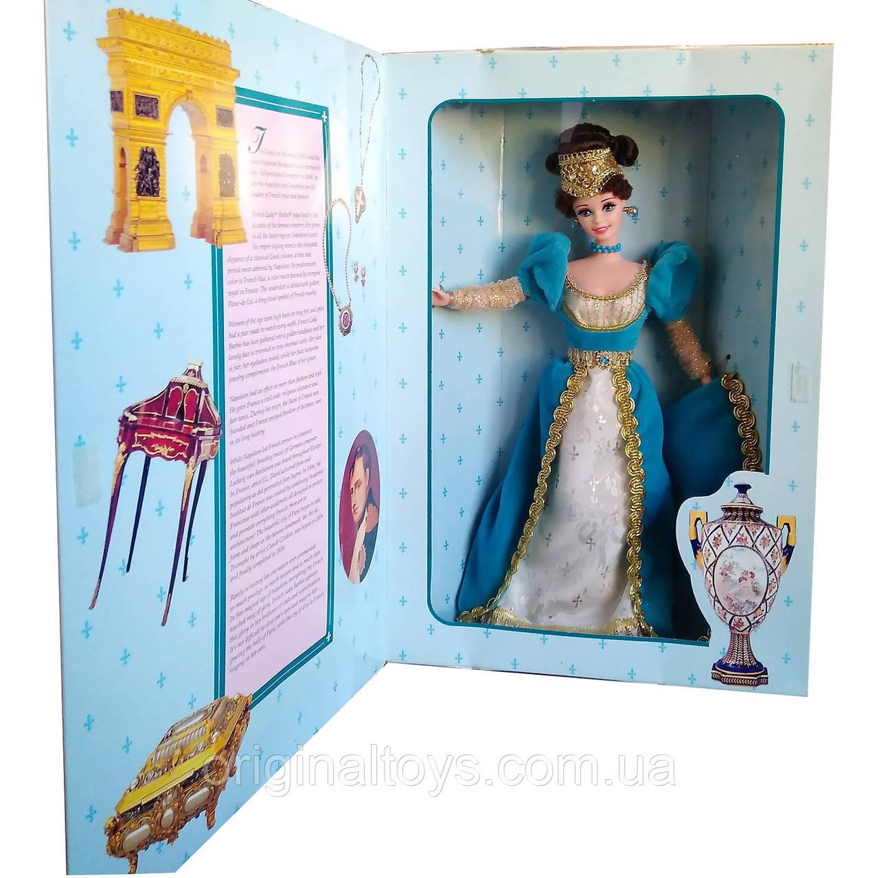 Коллекционная кукла Барби Французская Леди Barbie French Lady 1996 Mattel 16707