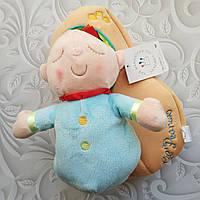 Текстильная кукла - сплюшка Manhattan toy в люльке