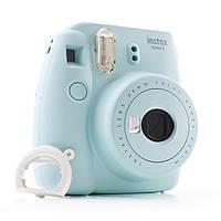Фотоаппарат моментальной печати  FUJIFILM Instax Mini 9 Бирюзовый (Голубой)