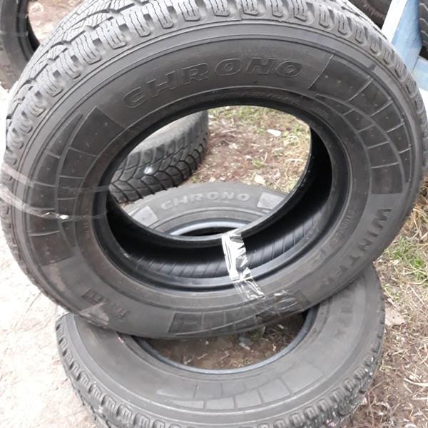 Шины б.у. 225.75.r16с Pirelli Chrono Winter Пирелли. Резина бу для микроавтобусов. Автошина усиленная. Цешка