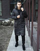 Куртка зимняя мужская Tank черный